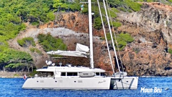 Catamaran Moun Beu