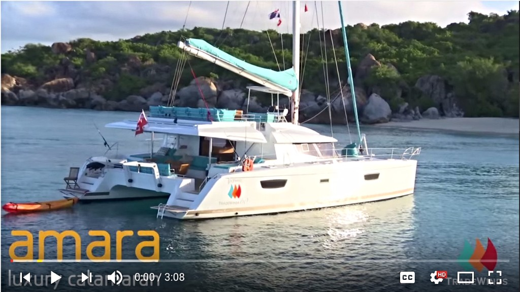 Amara - 60' 2015 Fountain Pajot Luxury Crewed Charter Yacht