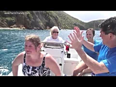 Motor Yacht McGREGOR II -  USVI & British Virgin Islands Best Beach VACAY ever!