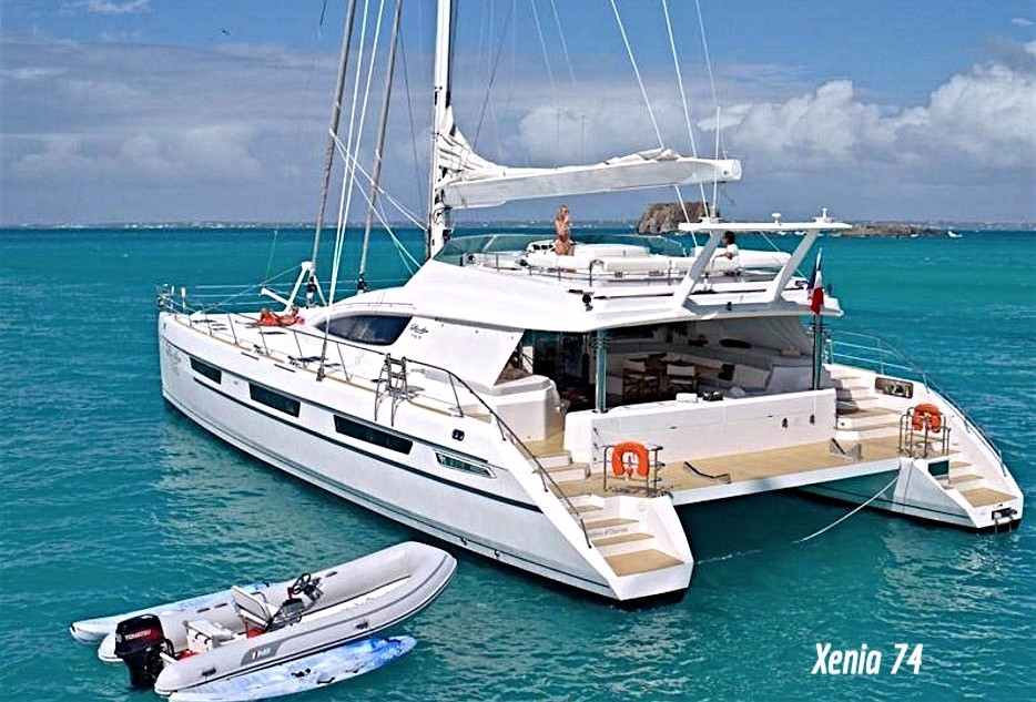Xenia 74 Catamaran Video