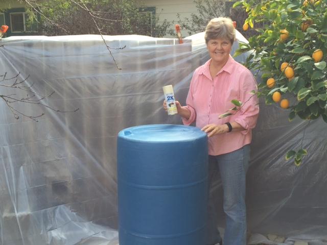 paint for plastic barrels