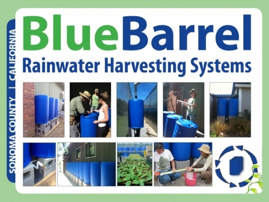 BlueBarrel Rainwater Harvesting Systems
