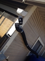 Disconnected Downspout Tie-In