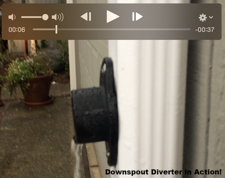 Downspout Diverter for rain barrels