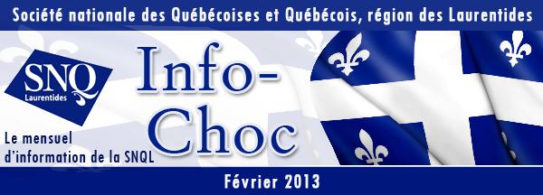 Société nationale des Québécoises et Québécois, région des Laurentides