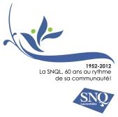 Logo du 60e anniversaire de la SNQL
