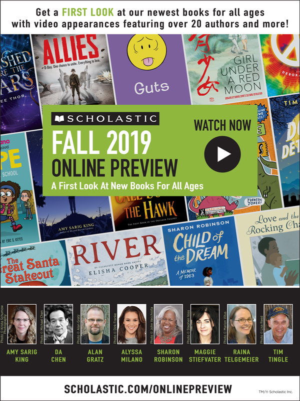 See New Books from Da Chen, Alan Gratz, Sharon Robinson, Maggie Stiefvater, and More on the Scholastic Online Preview