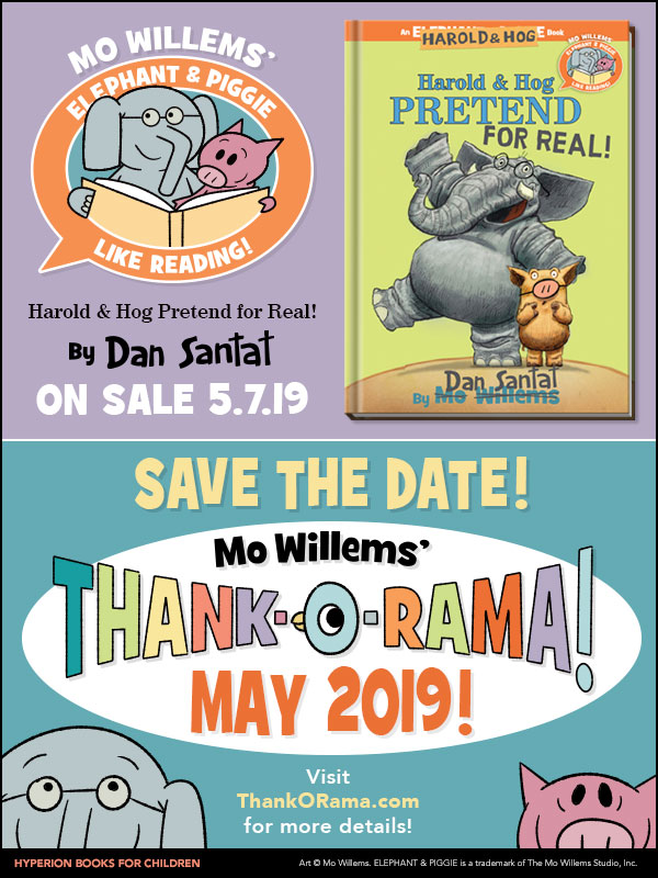Mo Willems' Elephant & Piggie Thank-O-Rama