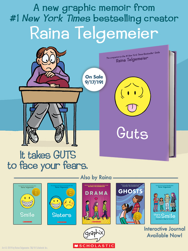 Guts by Raina Telgemeier