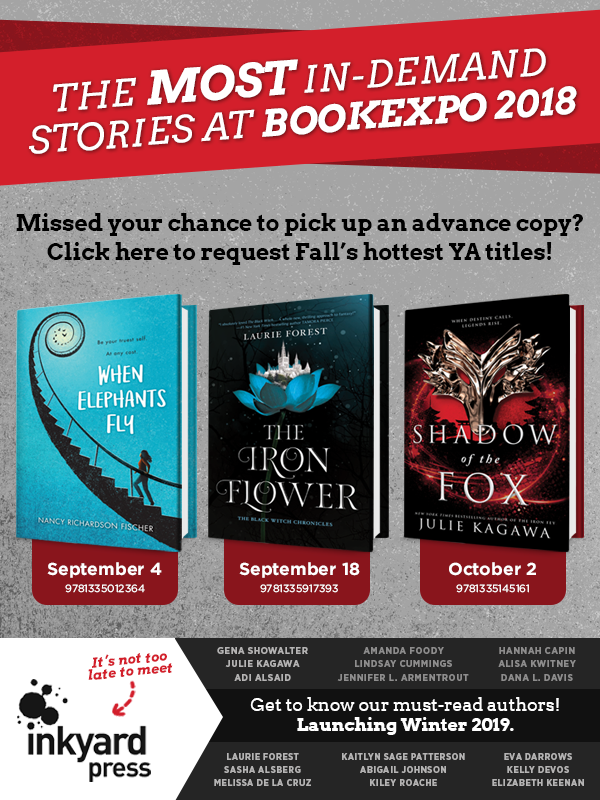 The Most In-demand Stories at BookExpo 2018