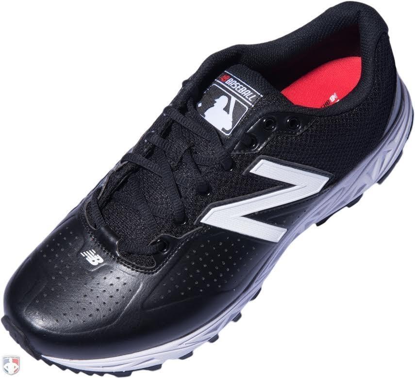 New Balance MLB Black & White Low-Cut