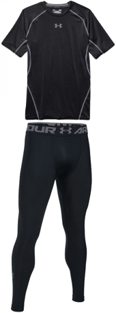 Under Armour HeatGear Compression Shirt & Tights