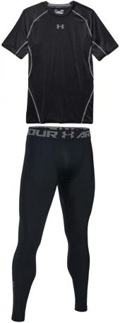 Under Armour HeatGear Compression Shirt & Tights