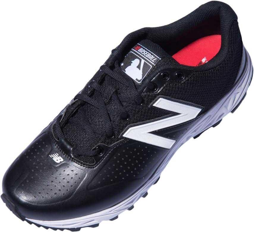 New Balance Low-Cut Black & White Umpire Base Shoes