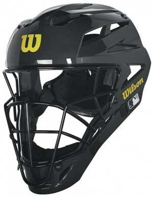 Wilson MLB Pro Stock Steel Umpire Helmet