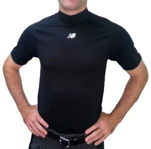 New Balance Challenger Mock Neck Short Sleeve Compression Shirt