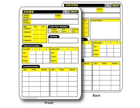RefSmart Double-Sided Reusable Information Card