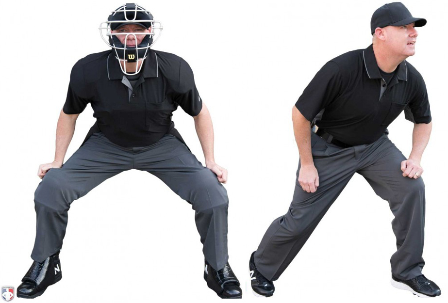 Smitty Poly Spandex Charcoal Grey Umpire Pants