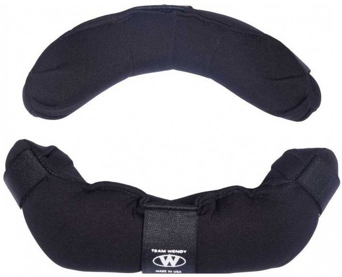 Team Wendy Replacement Umpire Mask Pads - Black