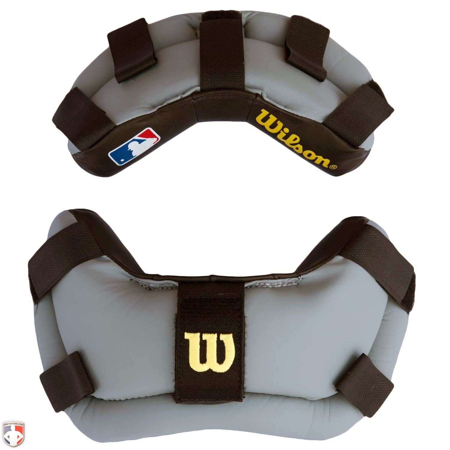 Wilson MLB Wrap Around Replacement Pads - Black & Grey
