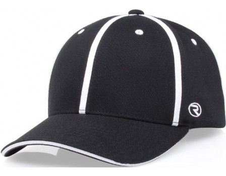 Richardson Alternative Style Black Officials Cap