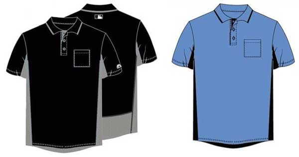 Majestic MLB Umpire Shirts