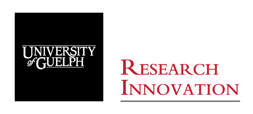 University of Guelph Cornerstone with Research Innovation Office text