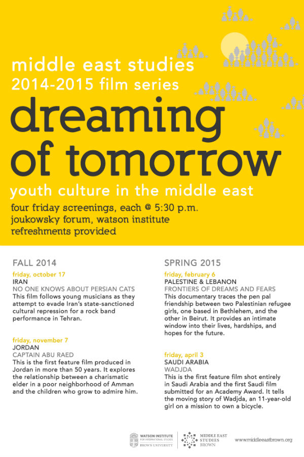 Dreaming of Tomorrow Film Series
