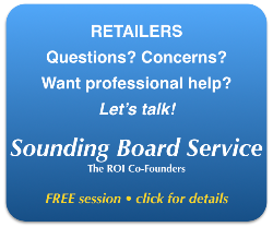 Sounding Board Service for retailers