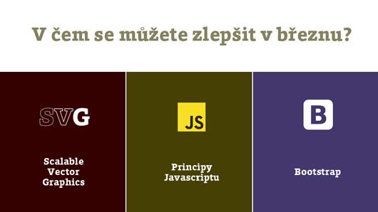 Školení SVG, Javascriptu a Bootstrapu
