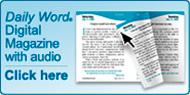 Daily Word Digital Magazine with Audio