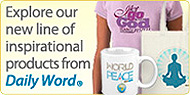 explore our new line of inspirational products from Daily Word.