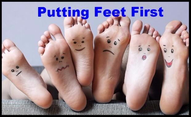Putting Feet First