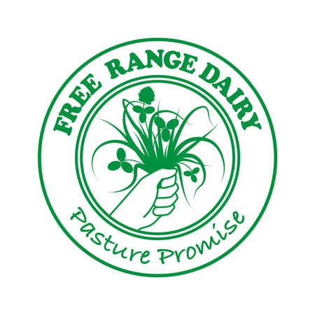 Free Range Dairy | Pasture Promise Logo