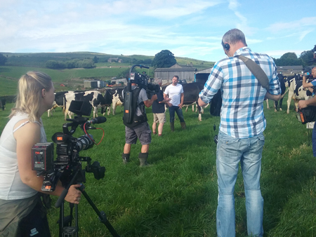Free Range Dairy | Filming Friday Night Feast