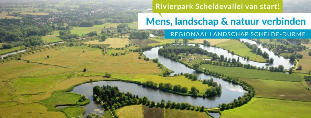 Rivierpark Scheldevallei - Ondertekening charter