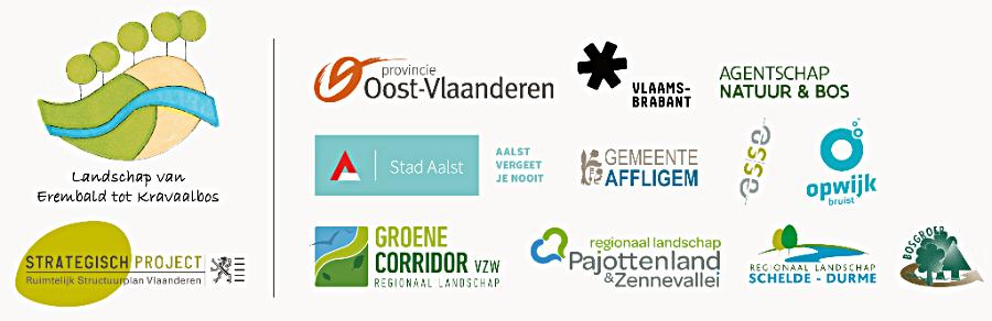 Projectpartners 'Landschap van Erembald tot Kravaalbos'