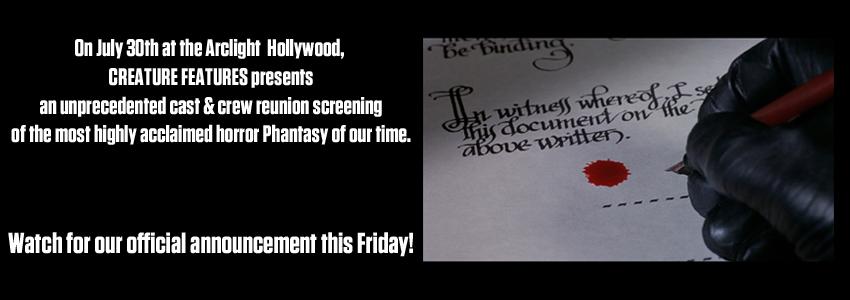 Phantom of the Paradise screening