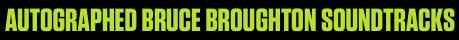 Signed Broughton Soundtracks