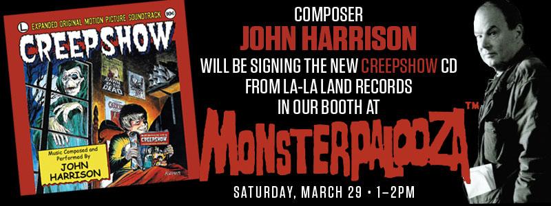Creepshow Signing - Monsterpalooza