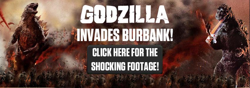 Godzilla Invades Burbank