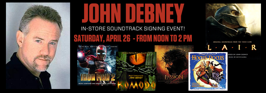 John Debney Signing Event
