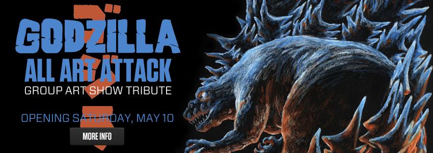 Godzilla: All Art Attack