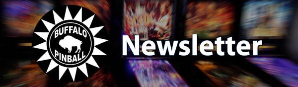Buffalo Pinball Newsletter Header
