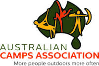 logo with Map of Australia and text