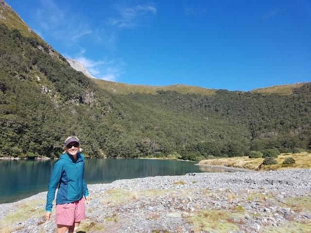 Dr Amanda Lloyd in NZ