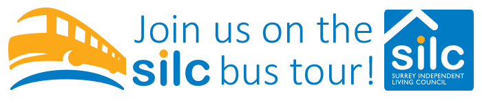 Surrey Independent Living Council: Join us on our silc bus tour