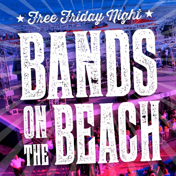 Free Bands on the Beach