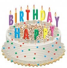 Mobile Friendly Newsletter - Birthday Cake