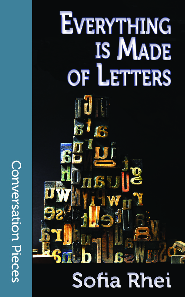 Cover image of EVERYTHING IS MADE OF LETTERS